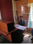 Armel in Yego office