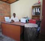 Theophile in Yego Office