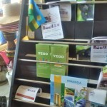 YEGO Material on display at the Rwandan Heritage Days pavilion