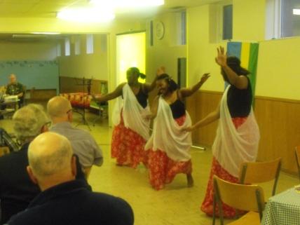 Joy and Dancers